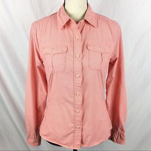 The North Face Vapor Wick Button Down Shirt Top